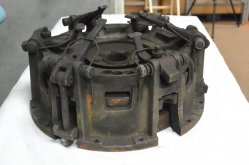 Before Shot of SAME Tractor Clutch - Clutch Kit Restoration