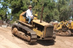 CAT D4: Photo courtesy of the Roseworthy Agricultural museum  - Roseworthy Agricultural Museum
