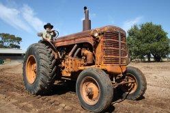 Chamberlain 40K: Photo courtesy of the Roseworthy Agricultural museum  - Roseworthy Agricultural Museum