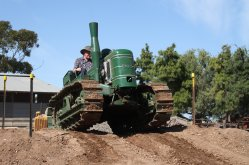 Fowler VF: Photo courtesy of the Roseworthy Agricultural museum  - Roseworthy Agricultural Museum