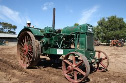 Hart Parr: Photo courtesy of the Roseworthy Agricultural museum  - Roseworthy Agricultural Museum